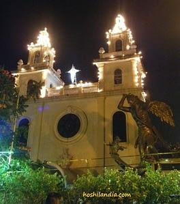 San Miguel Church facade