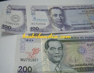 Philippine Peso Bills with Name of Universities