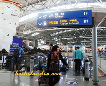 Incheon Airport,, South Korea